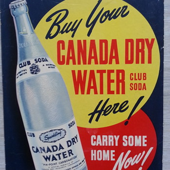 Buy your canada dry water.