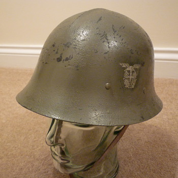 Norwegian Quisling helmet