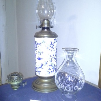 OIL LAMP!!   NEED HELP with INFO!!