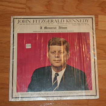 JFK Memorial Album - Advertising