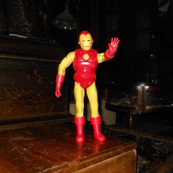 Captain Action Iron Man By Round 2