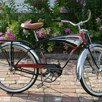 1949 Schwinn Black Phantom Bicycle - Outdoor Sports