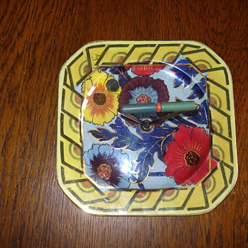 Wonderful Art Deco Charlotte Rhead Bursley Ware tray - Pottery