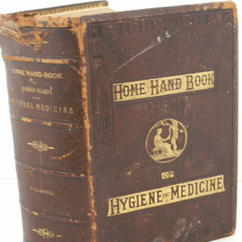 1880 Home Hand Book of Hygiene and Medicine - Books
