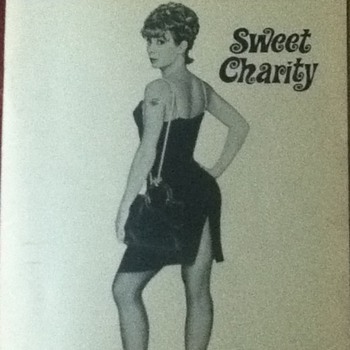 """Sweet Charity"" Vintage Playbill"
