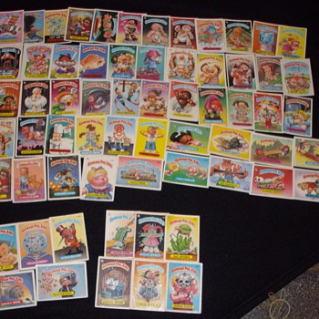 Garbage pail kids. (love em or hate em)