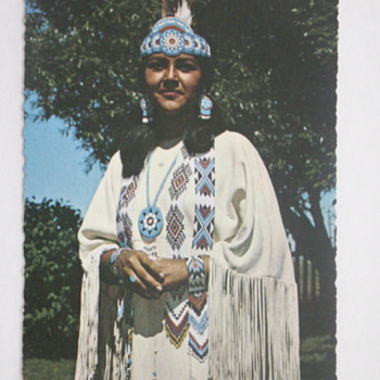 Indian Princess, Aca Tani - Postcards