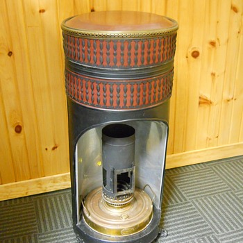 Sepulchre G.d.B. Summum Perfectionne. Belgium. Circa ± 1915. Heater/Oil Lamp. - Lamps