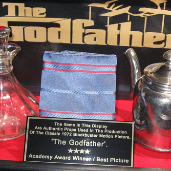 'The Godfather' . . . Original Props