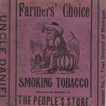 Antique Graphics of Tobacco