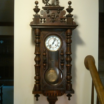 My 1800's clock - Clocks
