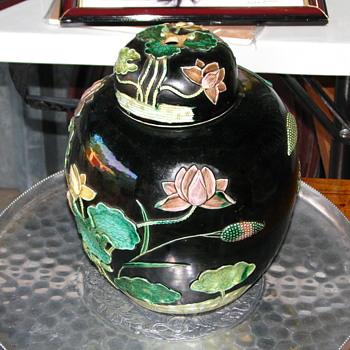 Asian(?) ginger jar/urn - Asian