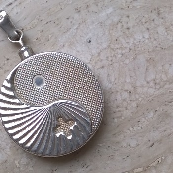 Sterling Silver BioStabil 2000 Magnetic Pendant