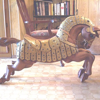 Mexican Wooden Horse
