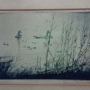 Old Print - Visual Art
