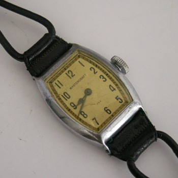 E. Ingraham Mastercraft Wrist Watch
