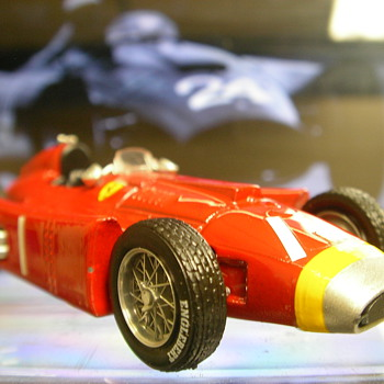 1956 Lancia-Ferrari D50 F1 Car - Model Cars