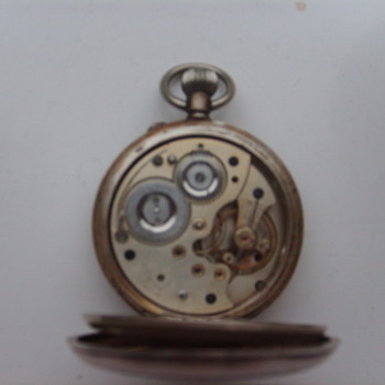 antique silver pocket watch
