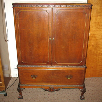 Tall Dresser with Ball-and-Claw Feet