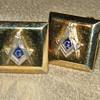 Freemason Cufflinks ca.1920's