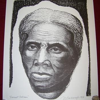 """Harriet Tubman poster 17.5""""X22"""""""