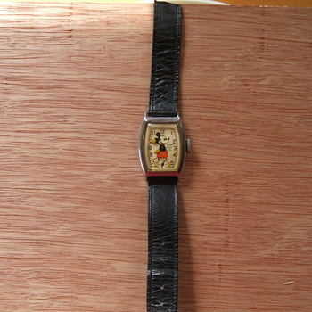 1942 Mickey Mouse Wristwatch - Wristwatches