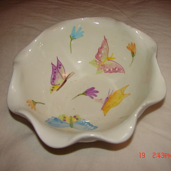 Unknown Nantucket Fluted Bowl