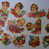 Vintage Germany Embossed Die Cuts.