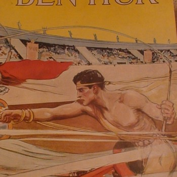 """Ben Hur"" 1926 Movie Program"