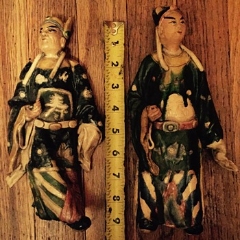 Japanese theatre dolls  - Asian