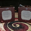 "1951 Newcomb ""Suitcase"" Speakers & Astatic JT-30"