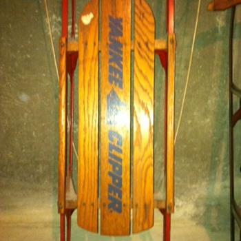 Yankee Clipper Sled, circa 1950s - Outdoor Sports
