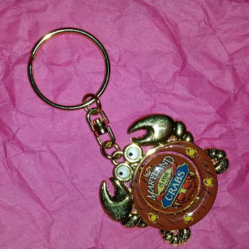 Crabby Key Chain - Advertising