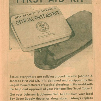 1932 Boy Scout First-Aid Kit Advertisement 2 - Advertising