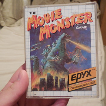 Godzilla, THE MOVIE MONSTERS GAME, Commodore 64 - Movies