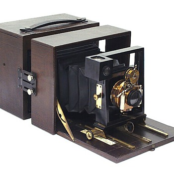 Blair 5x7 No.2 Folding Hawk-Eye Camera - 1892