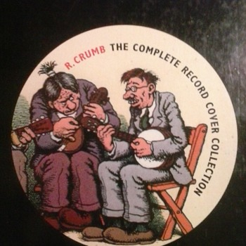 Mr. Record!  Robert Crumb!