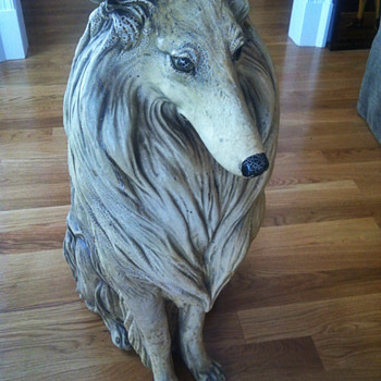 Antique Dog Statue