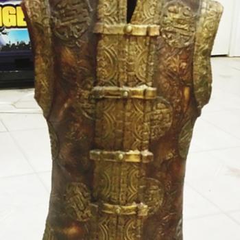 Oriental Bronze Floor Vase