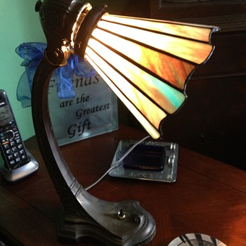 Art Nouveau Desk Lamp - Lamps