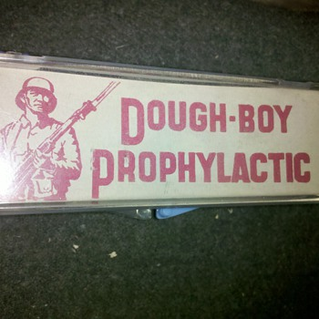 Here is something you don&#039;t see every day, a WWII PROPHYLACTIC!! - Military and Wartime