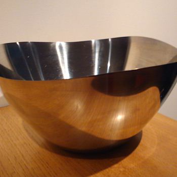 STELTON STAINLESS STEEL BOWL