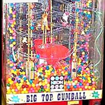 Big Top Gumball Machine