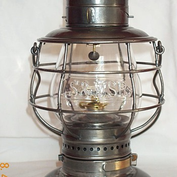 Lake Shore & Michigan Southern Railroad Lantern - Railroadiana