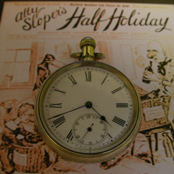 Ally Sloper&#039;s Half Holiday Pocket Watch