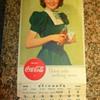 1939 Coca-Cola calendar