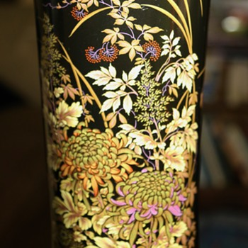 Large Shibata Vase from Japan - Art Pottery