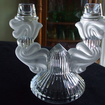 Who Made This ART DECO Double-Arm CANDLE-HOLDER - Art Deco