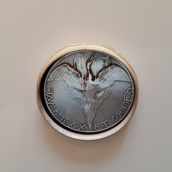 chris v/d hoef silver coin