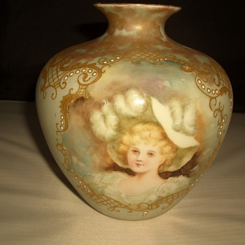 Limoges France Elite Vase 1900-1914